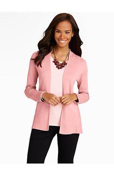 No-Close Sweater Jacket