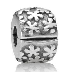Pandora Flowers Clip