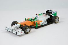 Force India VJM04, Monaco GP 2011, A. Sutil in 1/43 - an F1 car in resin from Spark