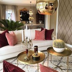 Credit: - Architecture and Home Decor - Bedroom - Bathroom - Kitchen And Living Room Interior Design Decorating Ideas - Decor, House Interior, Living Room Spaces, Eclectic Decor Modern, Home, Room Design, Living Room Decor, Home Decor Trends, Apartment Decor