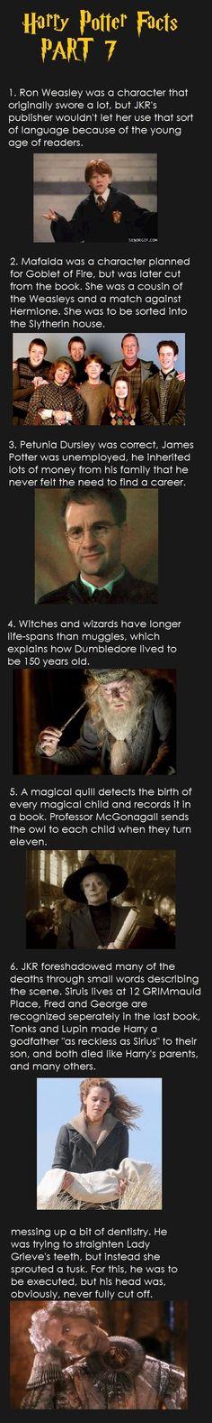 Harry Potter Facts (Part 7/9) - Imgur