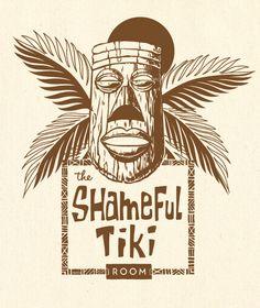 The Shameful Tiki Room logo, by Fancypants Design Co.