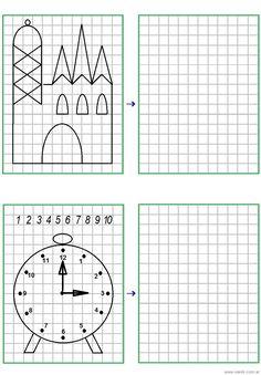 Dibujo 14 Drawing Games, Art For Kids, Diagram, School, Drawings, Pattern, Blackwork, Worksheets, Google