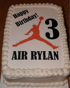 My air Jordan cake Kimmis Cakes Pinterest Air jordan Cake