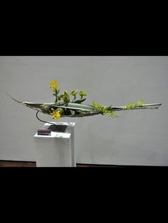 Ikebana Flower Arrangement, Modern Flower Arrangements, Sogetsu Ikebana, Japanese Flowers, Arte Floral, All Flowers, Flower Show, Flower Decorations, Flower Designs