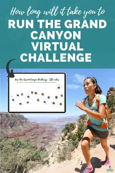 How long will it take you to run along the entire length of the Colorado River inside the Grand Canyon? Challenge yourself with this tracking template to see just how far and how fast you can go! All About Marathon Training / virtual running challenge / virtual race / running challenge / Marathon Nutrition, Running Challenge, Half Marathon Training Plan, Virtual Run, Colorado River, Nutrition Guide, Puns, Weight Loss Tips, Grand Canyon