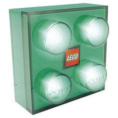 lego light to go with our lego theme/big bang inspired/nerdy living room. Boys Lego Bedroom, Room Boys, Tesco Direct, Lego Room, Bar Areas, Lego Brick, Stage Design, Aspen, Legos