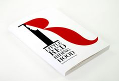 Little Red Riding Hood Book Cover Design on Behance