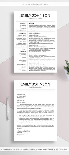 How To Make A Good Cover Letter Resume For Marketing Resume For Sales  Resume For Word Macpc  .