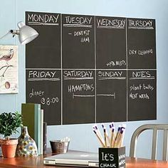 """Most of us have seen those painted chalkboard and magnetic walls and thought, ""maybe I should do that!""  Well, here's the lowdown on what works, what doesn't, and how to get the effect you really want."""