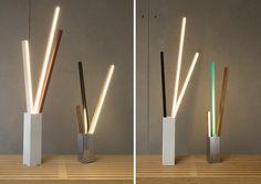 RUX design: stickbulb lamp - designboom | architecture & design magazine