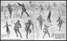 Analytical Figure Drawing SP08: Week 2 - Weight & Gesture Demo