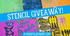 New Video and Stencil Giveaway!