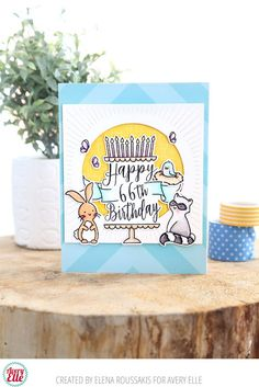 Avery Elle: Cute Birthday Critters and A Beautiful Mother's Day Card