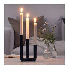 IKEA - IKEA PS 2017, Kandelaar voor 3 kaarsen, De kandelaar geeft sfeervol licht en is daarnaast ook een fraai object.