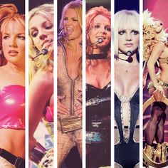 BOMT, (Crazy 2K), Oops, DWAD, Onyx Hotel, Circus, Femme Fatale - I have seen every tour of hers <3