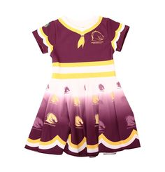 Welcome to SportsTG, the leading provider of digital solutions to the sports industry. Brisbane Broncos, Rugby League, My Girl, Cheer Skirts, Short Sleeve Dresses, Sports, Cowboys, Clothes, Australia
