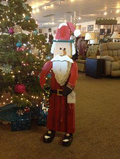 Awesome handmade Santa!