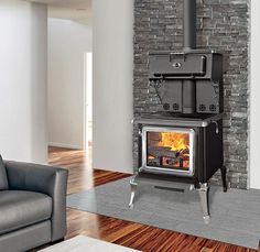 J.A. Roby 2500 Forgeron Cuisiniere Wood Cookstove