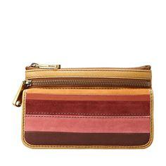 FOSSIL® Wallets Checkbook Wallets:Wallets Explorer Flap Clutch SL3895