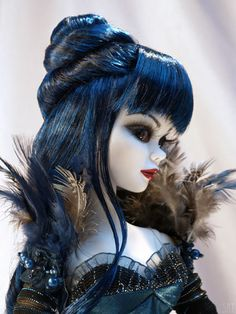 Blue Moon profile 1 close-up by mistress11th, via Flickr