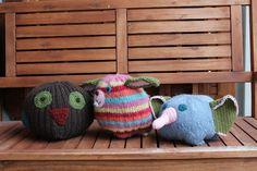 Pipoeläimiä, woolly hat animals