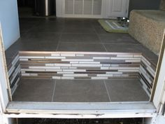 Entrance steps to a trailer                              …