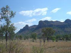 Canarvon Range, Mackay to Injune Road, Queensland, Australia