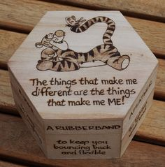 Tigger's Little box of Bounce by HecticEclecticUK on Etsy