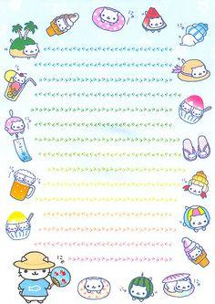 Kawaii memo paper - Nyan Nyan Nyanko Hey, I found this etsy shop that sells really cute stuff: https://www.etsy.com/shop/TrufflesAndTrinkets