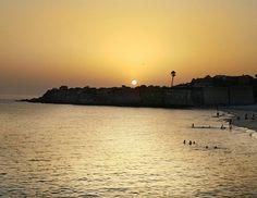 Atardecer en la playa de la Muralla en el Puerto de Santa Maria #sunsets #sunset #atardecer #magiccadiz #cadizfornia