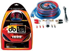 DB Link PK4Z 4 Gauge Power Series Amplifier Installation Kit by db. $29.75. DB Link PK4Z 17 Feet 4 AWG Translucent Red LinkFlex Power Cable - 17 Feet Jammin' RCA Cable - 3 Feet 4 AWG Black LinkFlex Ground Cable - 17 Feet 18 AWG Blue Remote Wire - 25 Feet 16 AWG Speaker Wire - AGU Heat Resistant Fuse Holder - 60 Amp AGU Gold Plated Fuse - 6 Feet Split Loom - Wire Ties & Accessories