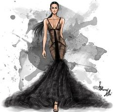 Fashion illustrator by Shamekh
