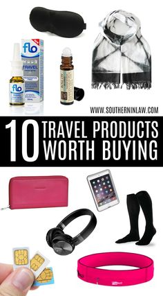 10 Travel Products That Are Worth Buying Find out what 10 Travel Products you should buy before your next long haul flight or international trip!<br> Find out what 10 Travel Products you should buy before your next long haul flight or international trip! Travel Items, Travel Products, Travel Stuff, Best Travel Gadgets, Travel Hacks, Air Travel Tips, Travel Deals, Air Travel Outfits, Travel Rewards