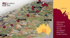 Vineyards - Tim Adams Wines in the Clare valley Clare Valley, South Australia, Weekend Trips, Wine Country, Wines, Vineyard, Places To Go, Weekend Getaways, Vine Yard