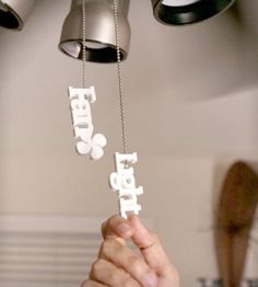 Fan and Light Pull Handles | so smart