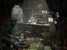 Messy, Grimy, Crowded Cyberpunk - Album on Imgur