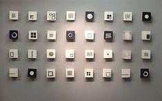 Wall of Squares: Lori Katz: Ceramic Wall Art | Artful Home