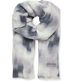 ARMANI COLLEZIONI - Tie-dye scarf | Selfridges.com