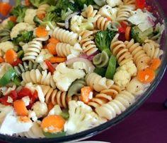 Pasta Vegetable Salad Recipe