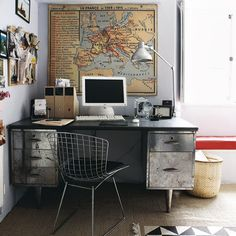 44 Awesome Masculine Home Office Design Ideas