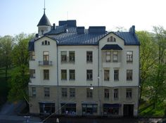 """Hjorten"", Kaskenkatu 4 (Frithiof Strandell (1865 - 1925), 1904 - 1907), Turku (2576 × 1917)"
