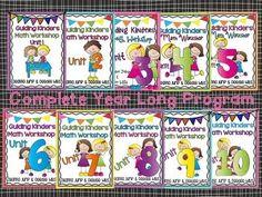 Program ideas for the year in PreK/Kinders