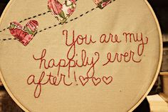 Cute V-day Valentine...or to hang on the wall for the every day reminder