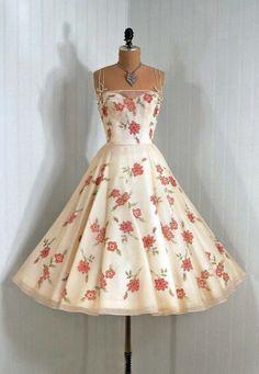 vestidos vintage -