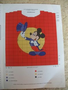 Dress Sewing Patterns, Knitting Patterns, Knitted Jackets Women, C2c, Pixel Art, Diy And Crafts, Mickey Mouse, Family Guy, Reusable Tote Bags
