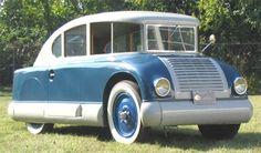 Restored 1932 Martin Aerodynamic....still an odd looking car....