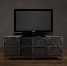 restoration hardware media chest. <3