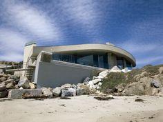 John Lautner. Malibu, California. Beyer Residence. 1975