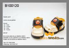 B100120  Sepatu sport  Warna sesuai gambar  IDR 75*